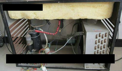 Unsafe Rolled Ice Cream Machine High Voltage Wiring